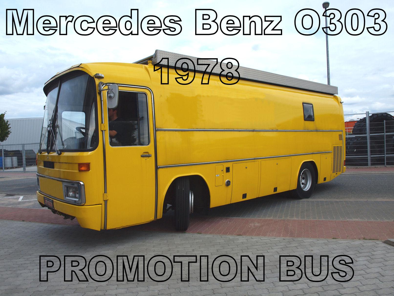 MercedesBenz O303 PR Bus