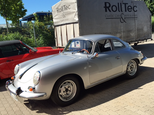 Komplettrestauration Porsche 356 SC